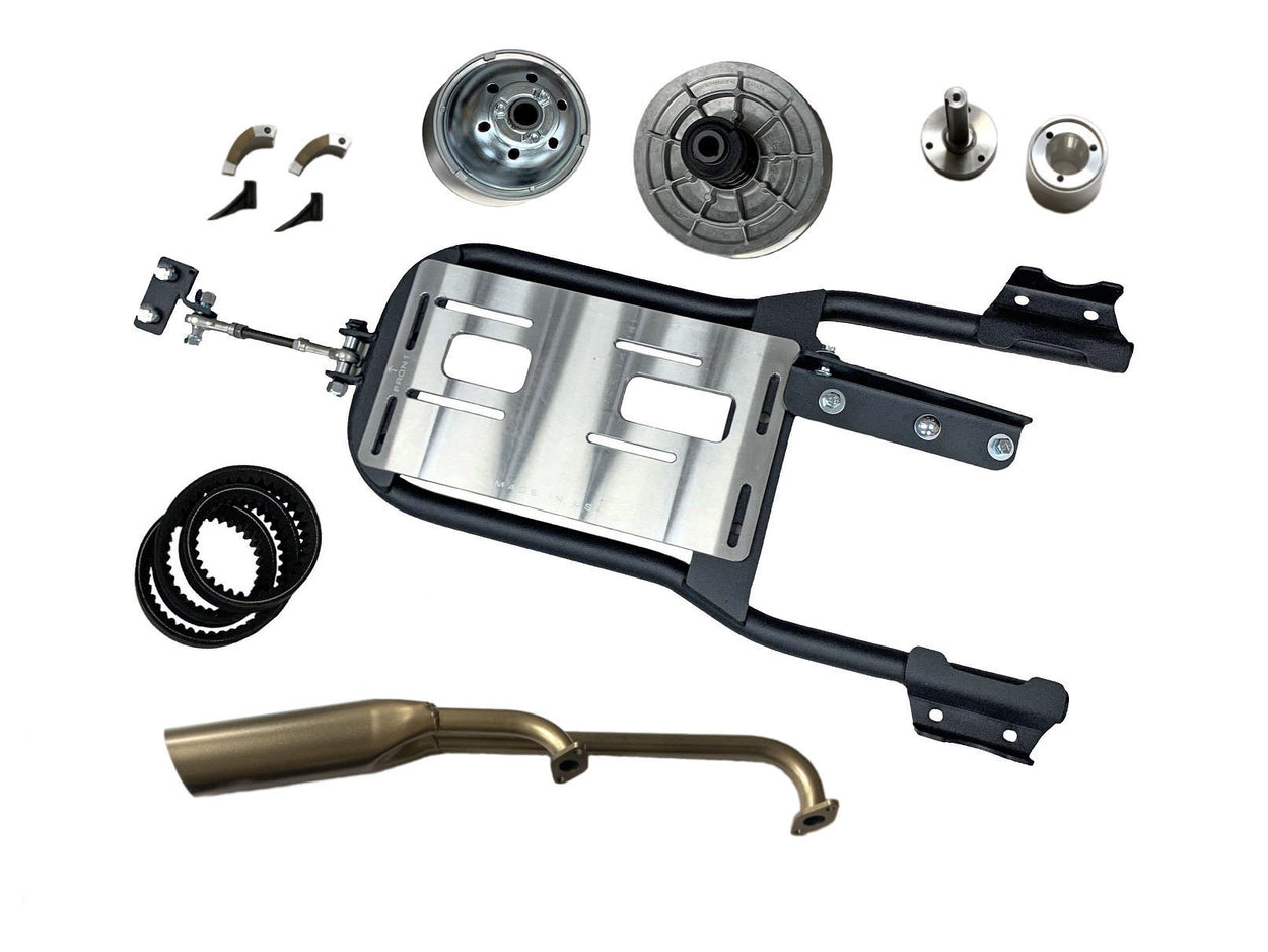 Predator 22hp Installation Kit for 1998-2014 Club Car - CLOCKWISE ROTATION
