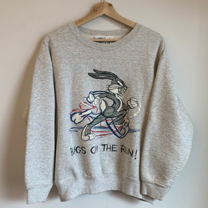"""Bugs On The Run!"" Gray Crewneck Sweatshirt"