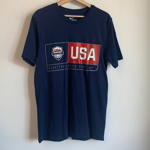 Nike USA Basketball Navy Tee