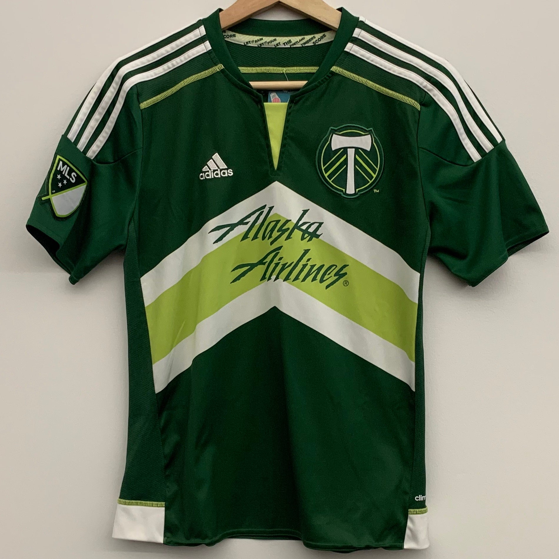 Adidas Portland Timbers Youth Soccer Jersey