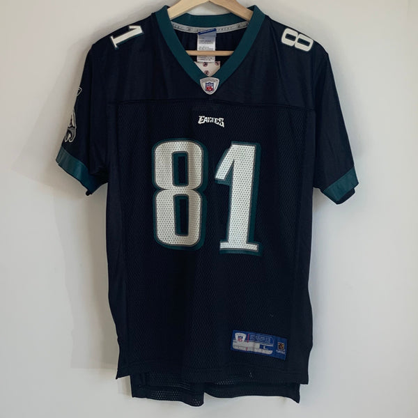 Reebok Terrell Owens Philadelphia Eagles Black Youth Football Jersey