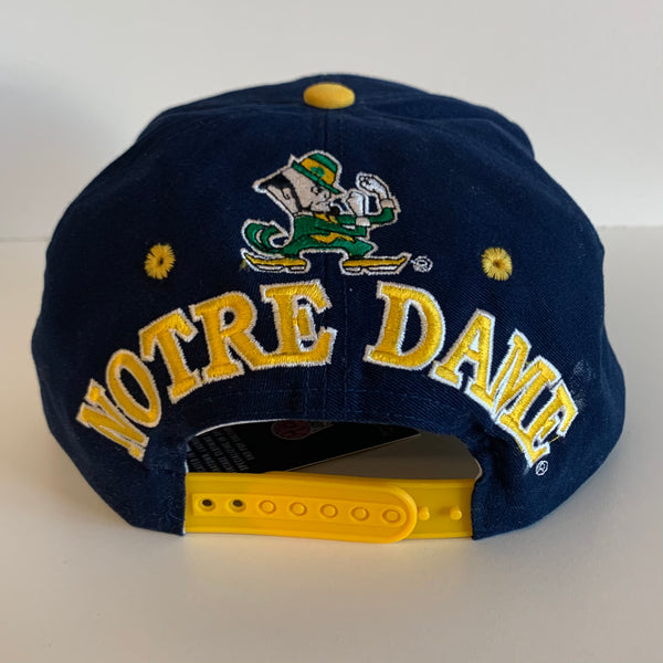 AJD Notre Dame Fighting Irish Navy SnapBack