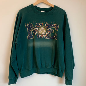 Nike Old Orchard Beach Maine Green Crewneck Sweatshirt