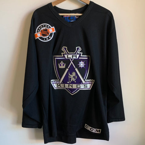 CCM Los Angeles Kings Black Hockey Jersey