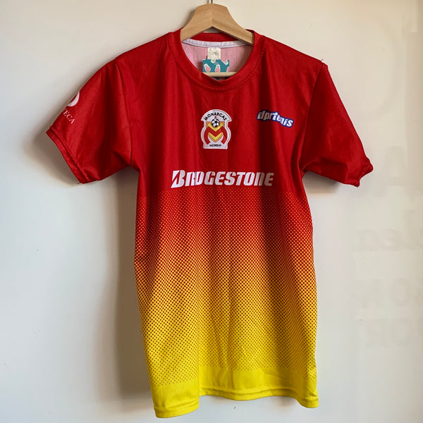 Monarcas Morelia Red/Yellow Soccer Jersey