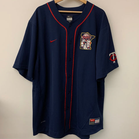 Nike Joe Mauer Minnesota Twins Baseball Jersey