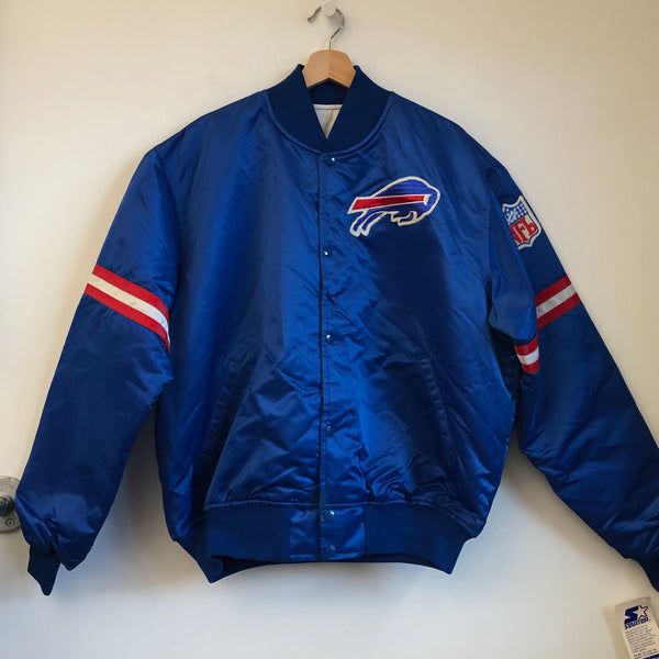 Starter Buffalo Bills Blue Satin Jacket