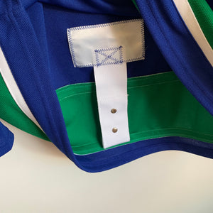 Adidas Vancouver Canucks Authentic Hockey Jersey W/ Fight Strap