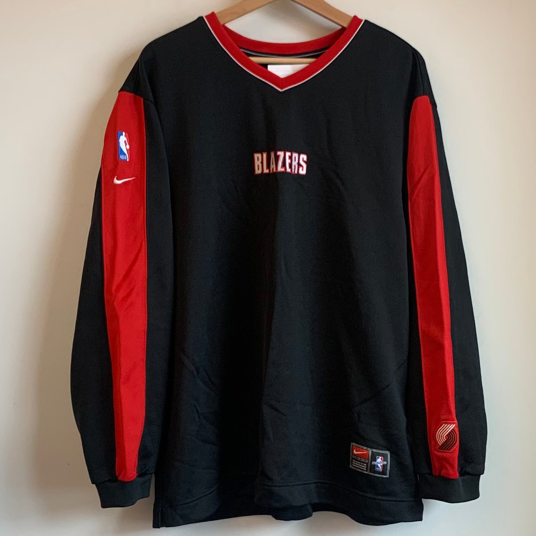 Nike Portland Trail Blazers Warm Up Sweater