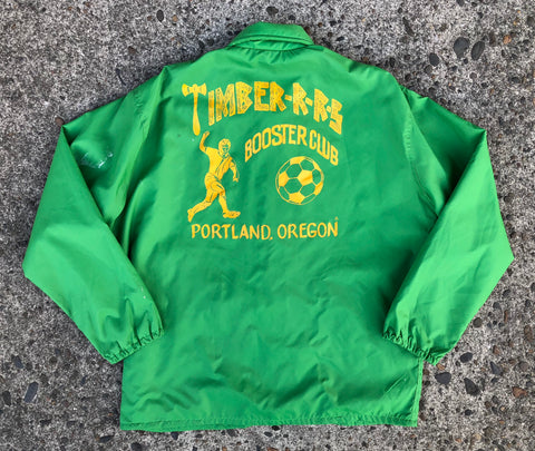 1980s Portland Timbers Booster Club Jacket