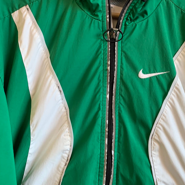 Nike Climafit Green Zip Up Jacket