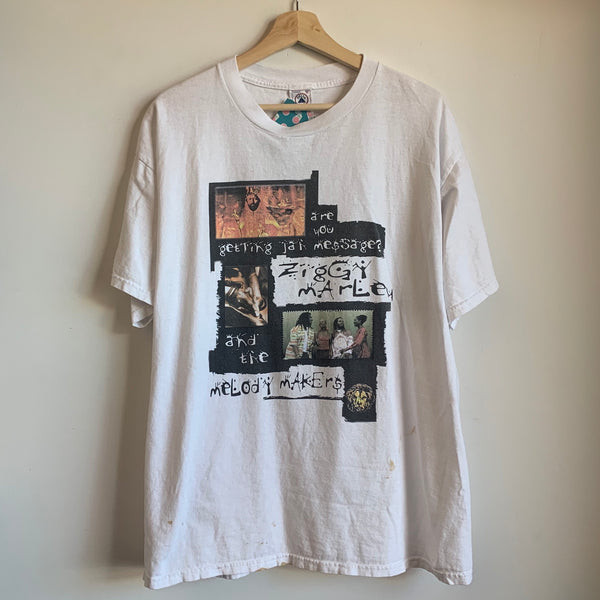 Ziggy Marley & The Melody Makers White Tee Shirt