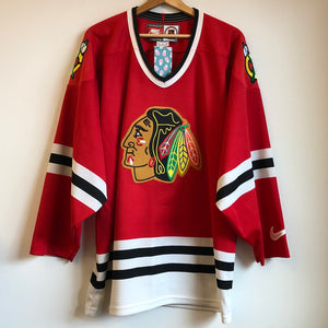Nike Chicago Blackhawks Red Hockey Jersey