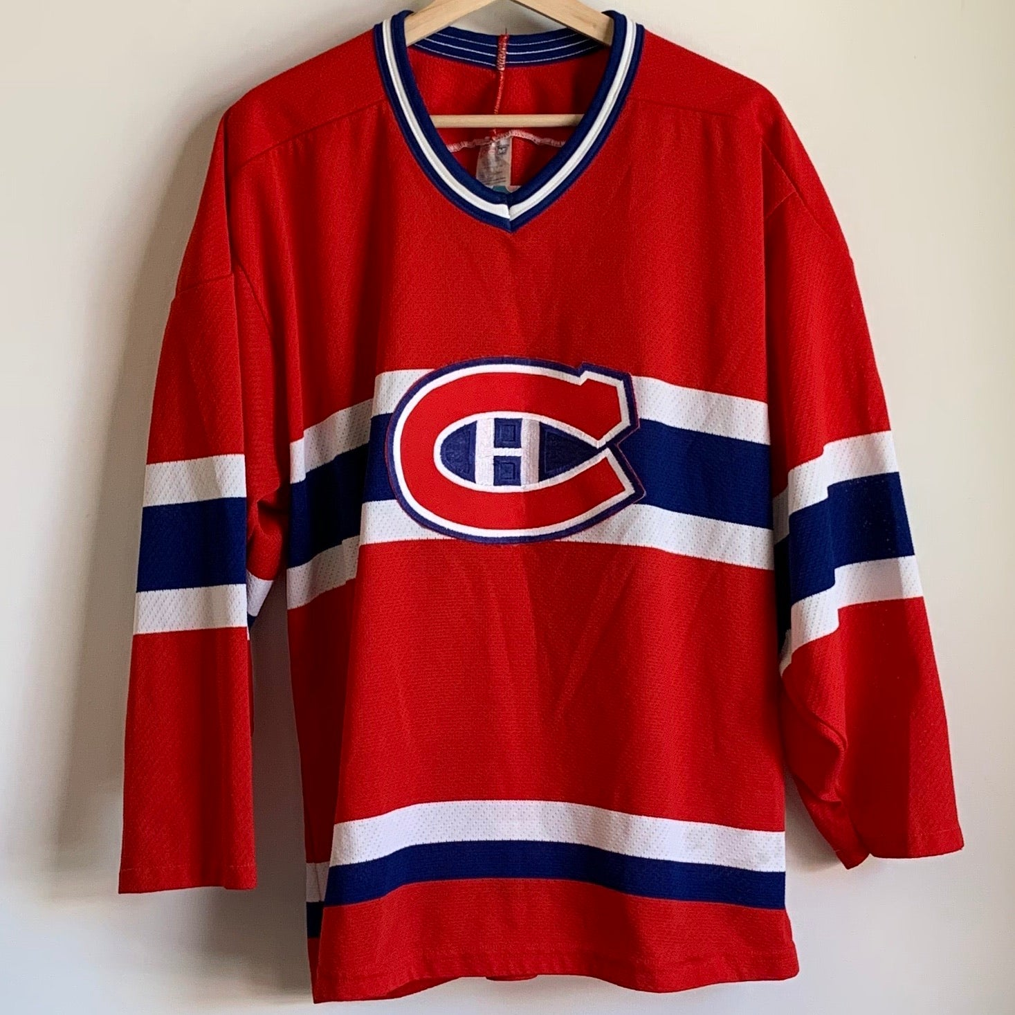 CCM Montreal Canadiens Red Hockey Jersey