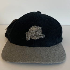 1995 Planet Hollywood Las Vegas Black Strapback