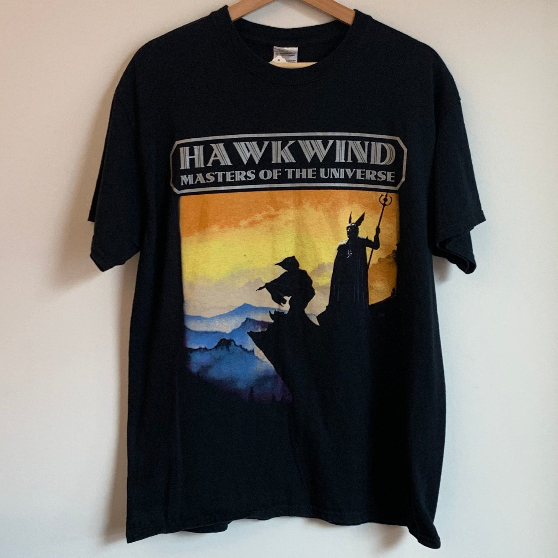 Hawkwind Masters Of The Universe Black Tee Shirt