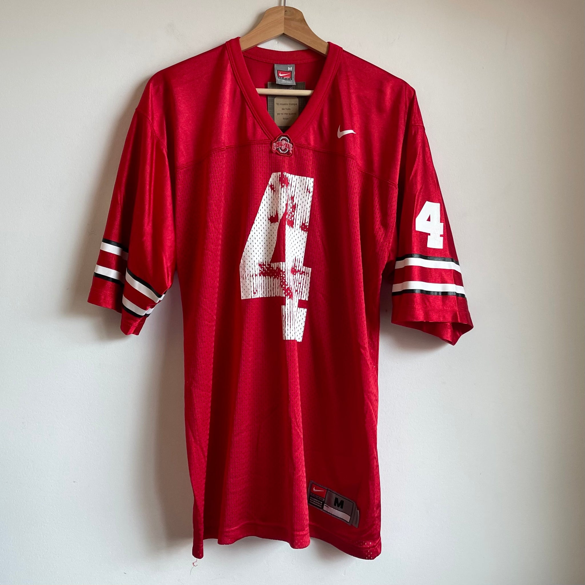Nike Ohio State Red/White Football Jersey