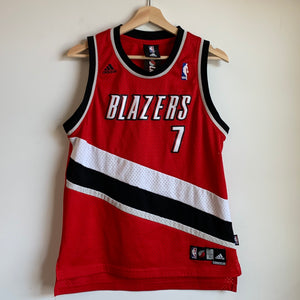 Youth Adidas Brandon Roy Portland Trail Blazers Red/White/Black Basketball Jersey