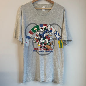 Mickey Mouse International Gray Tee Shirt