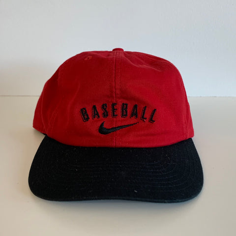 Nike Baseball Red & Black Snapback