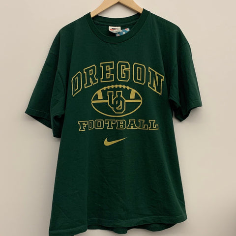 Nike Oregon Ducks Football Green Tee Shirt
