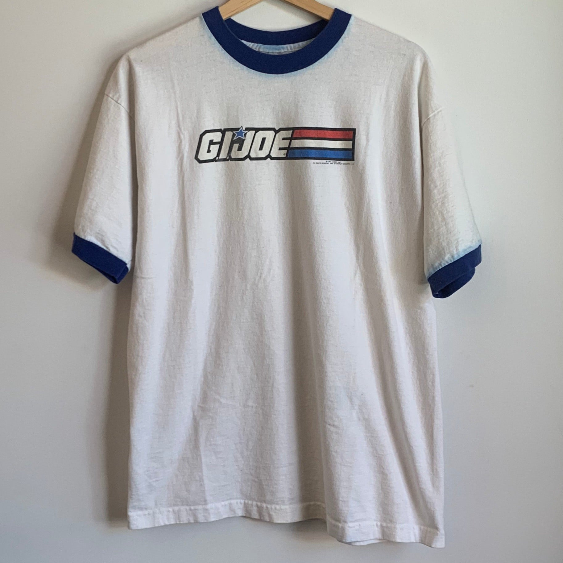 1996 G.I. Joe White Tee Shirt