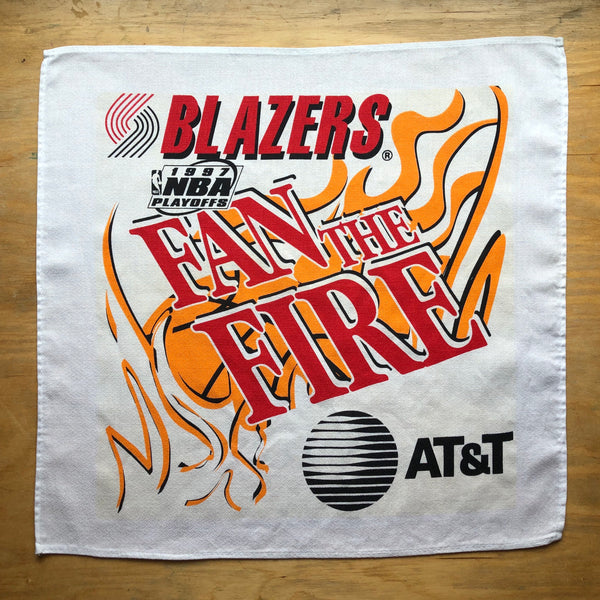 "Portland Trail Blazers ""Fan The Fire"" Rally Bandana Pocket Face Mask"