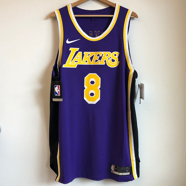 Nike Kobe Bryant Los Angeles Lakers Authentic Purple Basketball Jersey