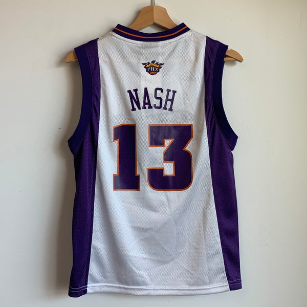 adidas Steve Nash Phoenix Suns Youth Basketball Jersey