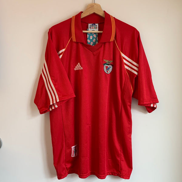 Adidas S.L. Benfica Red Soccer Jersey