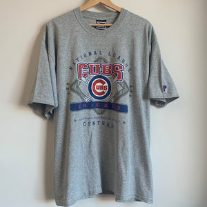 Pro Player Chicago Cubs Gray Tee Shirt