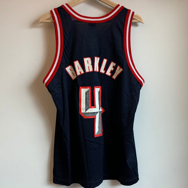 Champion Charles Barkley Houston Rockets Basketball Jersey