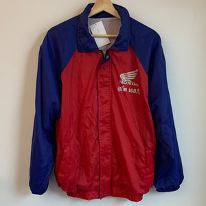 Honda Two Wheeler Red/Purple Windbreaker Jacket