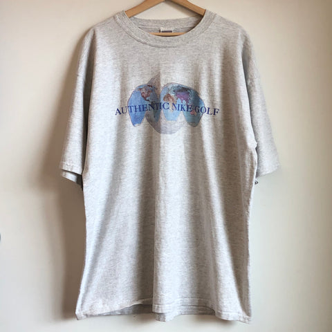 "Nike Gray Tag ""Authentic Nike Golf"" Tee Shirt"