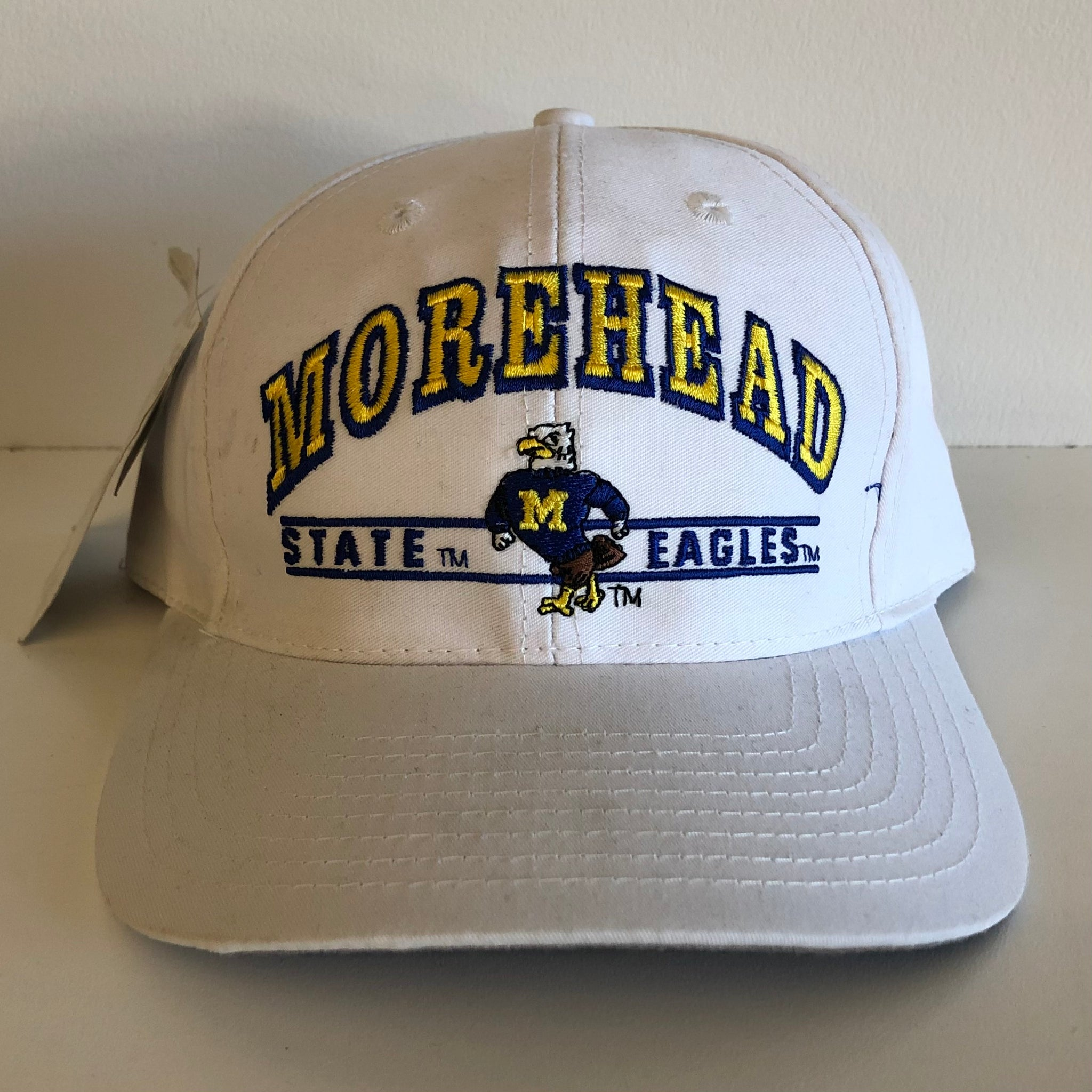 Logo Athletic Morehead State Eagles White Snapback