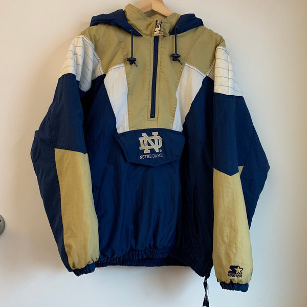 Starter Notre Dame Fighting Irish Parka Jacket
