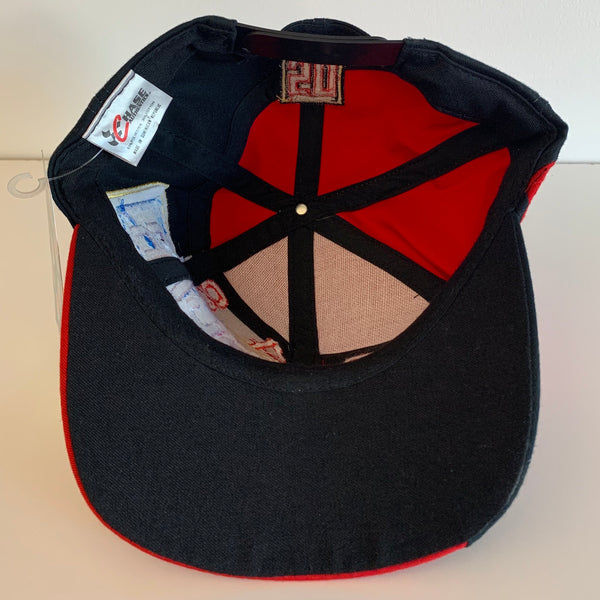 1998 NASCAR Racing Signed Red Snapback