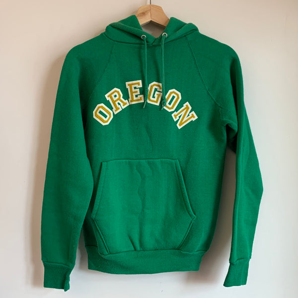 Oregon Ducks Green Hoodie Sweatshirt