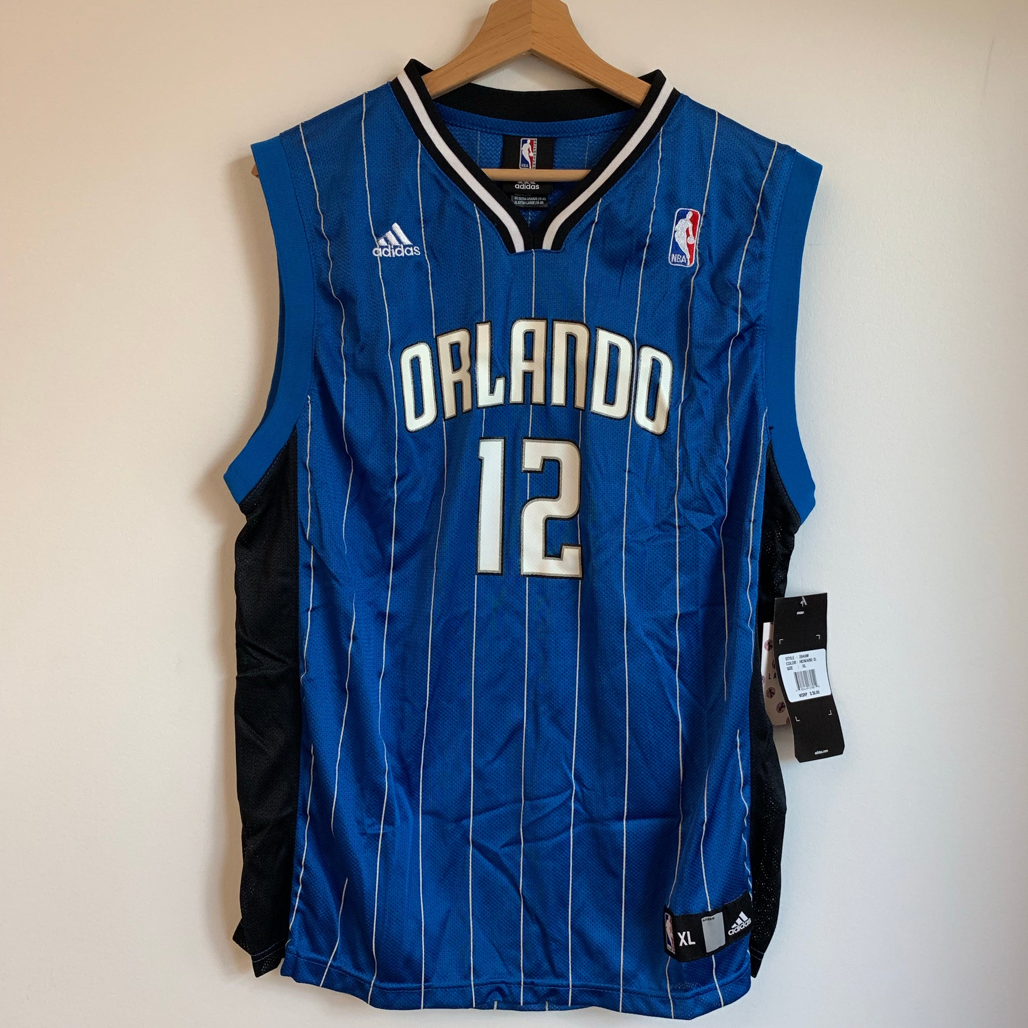 Adidas Dwight Howard Orlando Magic Blue Youth Basketball Jersey