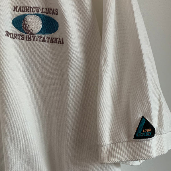 Logo Athletic Maurice Lucas Sports Invitational White Polo