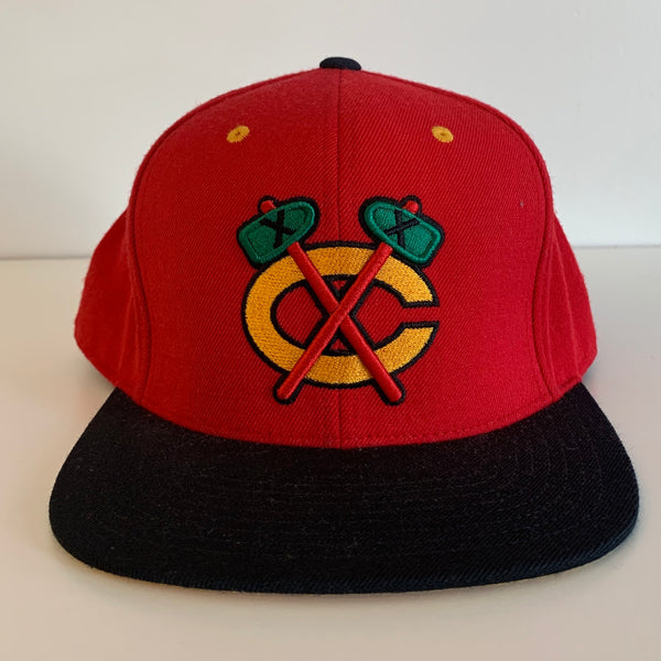 Mitchell and Ness Chicago Blackhawks Fitted Hat