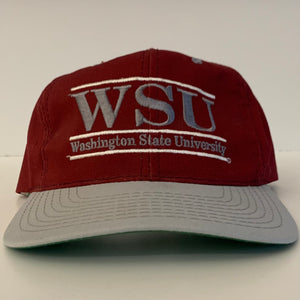 The Game Washington State WSU Cougars Crimson Snapback