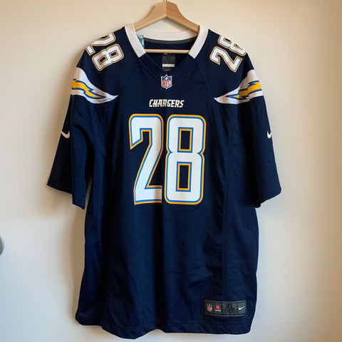 Nike Melvin Gordon III San Diego Chargers Football Jersey