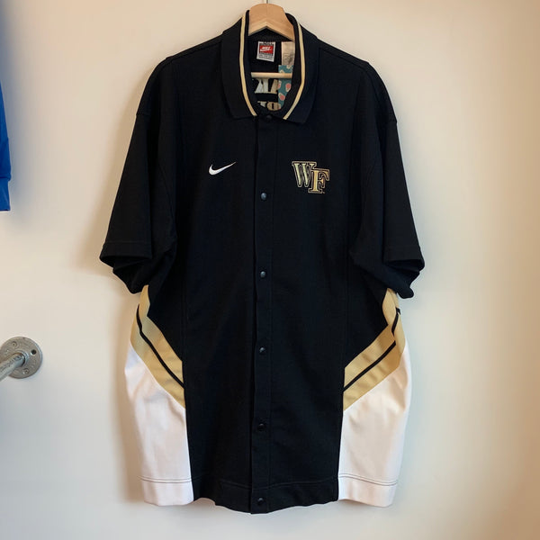 Nike Wake Forest Demon Deacons Basketball Warmup Jacket