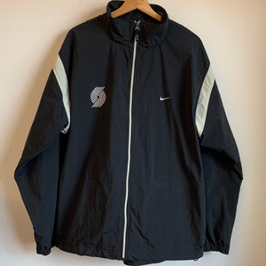 Nike Portland Trail Blazers Black Windbreaker Jacket
