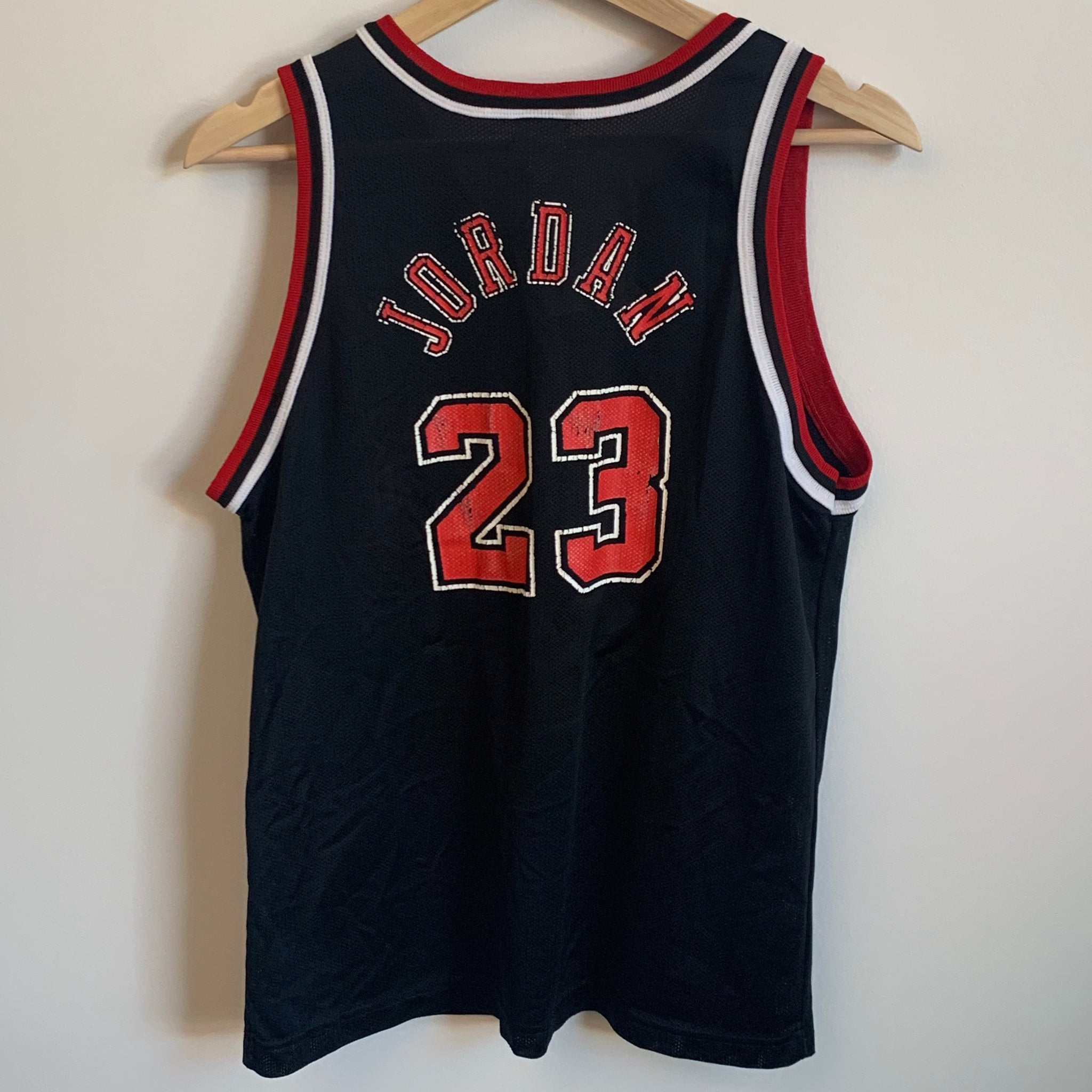 sale retailer db466 48bfc Champion Michael Jordan Chicago Bulls Black Youth Basketball ...