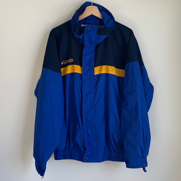 Columbia Sportswear Blue/Yellow Bugaboo Jacket