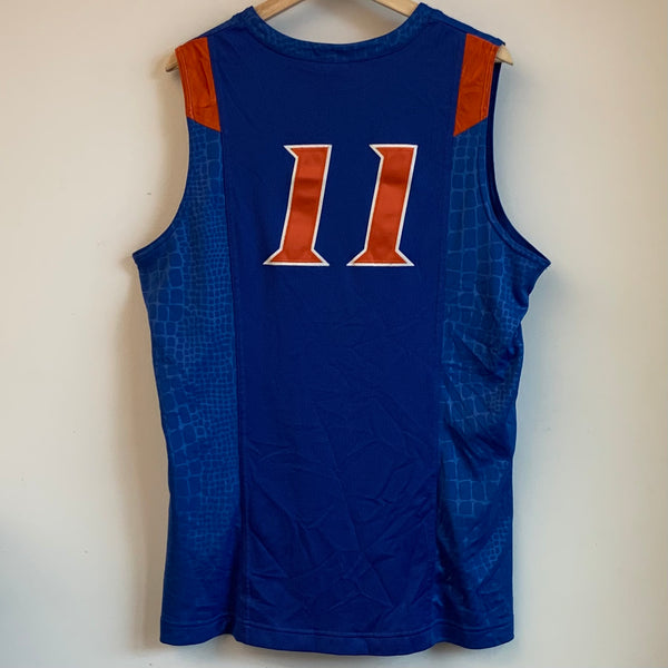 Nike Elite Florida Gators Blue Basketball Jersey