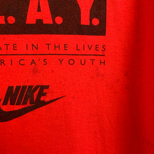 Nike Red P.L.A.Y. Tee Shirt
