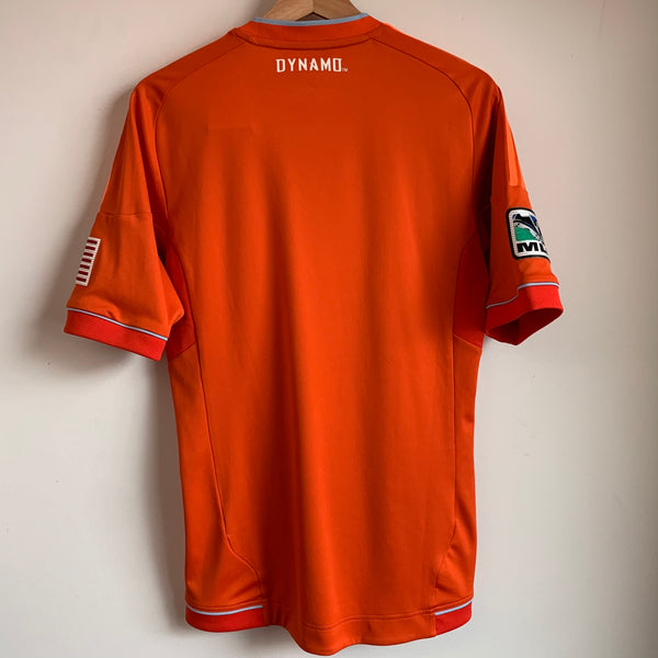 2012 adidas Pro Cut Houston Dynamo Orange Soccer Jersey